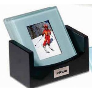 Atrium™ Glass Photo Coaster Set