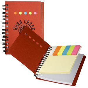Eco Mini-Sticky Book w/Ruler