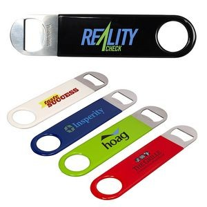 Double Sided Metal Bottle Opener w/Coating