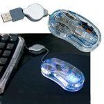 Custom USB Clear Optical Mini Mouse