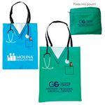 Custom Convertible Scrubs Tote Bag