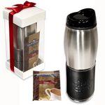 Custom Empire Tumbler & Ghirardelli Cocoa Gift Set