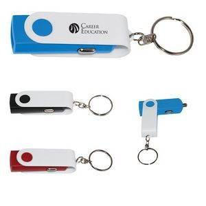 USB Car Adapter Key Chain