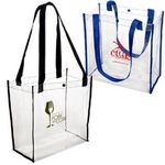 Custom Clear Stadium Tote Bag