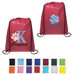 Custom Non-Woven Drawstring Cinch Up Backpack Bag