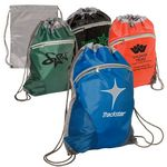 Custom Zip Pouch String-A-Sling Backpack