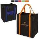 Custom Reflective Metro Enviro-Shopper Tote Bag