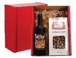 Custom Gourmet Popcorn & Wine Tool Gift Set