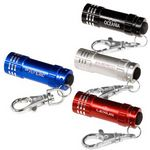 Custom Micro 3 LED Torch/ Key Holder