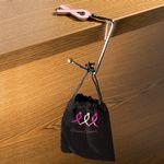 Custom Pink Ribbon Purse Hook