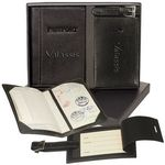 Custom Whitney Peconic Passport & Luggage Tag Set