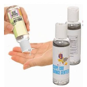 2 Oz. Hand Sanitizer in Round Bottle