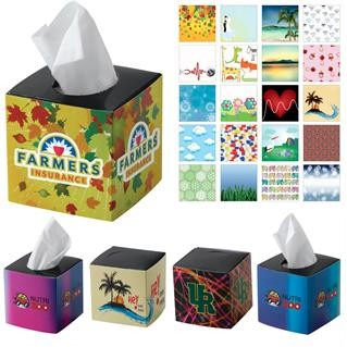 Mini Cube Tissue Box