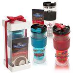 Custom Cool Gear Mason Coffee Tumbler & Ghirardelli Cocoa Set