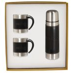 Custom Leeman Empire Coffee Cup and Thermos Gift Set