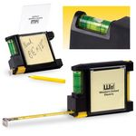 Custom Tape Measure with Level and Sticky Pad