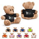 Custom 7'' Plush Bear with T-Shirt