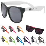 Custom Two-Tone Matte Sunglasses