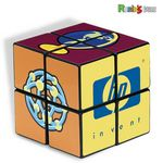 Custom Rubik's 4 Panel Full Size Custom Cube