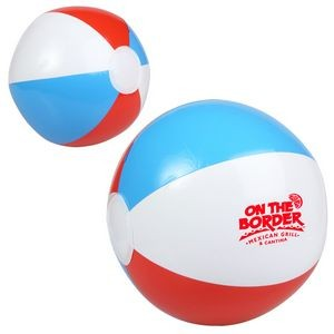 "Red, White & Blue Beach Ball (10"")"