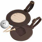 Custom Leeman Woodbury Round Golf Tag