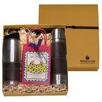 Custom Empire Tumbler & Thermos w/ Decadent Cocoa Gift Set