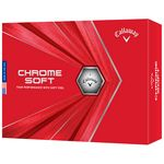 Custom Callaway Chrome Soft Golf Balls