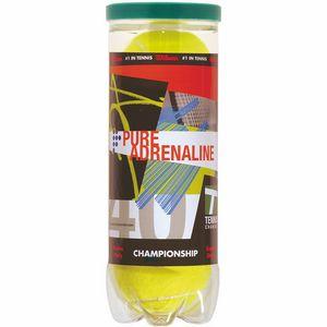 Wilson Championship Tennis Balls w/ Half Can Wrap - Blank Ball