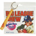 Custom Big League Chew & Mini Baseball Bat Key Chain