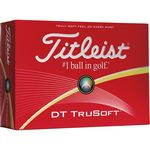 Custom Titleist DT TruSoft Golf Balls (Factory Direct)