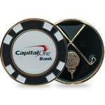Custom Metal Poker Chip Ball Marker
