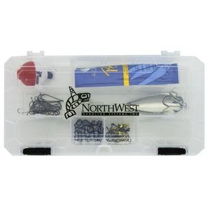 Tackle Box Kit with Lure/Bobber & Fishing Line Clipper