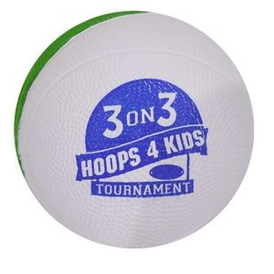 Two Tone Mini Foam Basketball