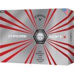 Custom Callaway Chrome Soft X Golf Balls (Factory Direct)