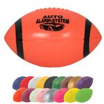 Custom Mini Re-inflatable Vinyl Football w/End Stripes - 7