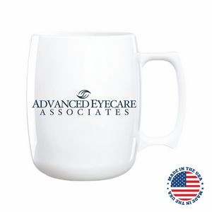 14 Oz. Courier Plastic Mug - Made in the USA