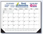 Custom Economy Line Desk Calendar with Small Number & Julian Date