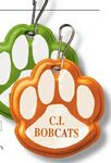 Custom Paw Print Zipper Pull