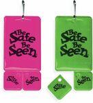 Custom Zip Tag Zipper Pull w/ 2 Lace Tags