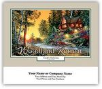 Custom Woodland Retreat Wall Calendars