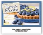 Custom Taste Of The Month Wall Calendars