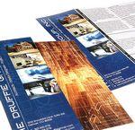 Custom Full Color Long Run Premium Text Brochure (8 ½