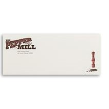 Full Color #10 CLASSIC®, Strathmore, or ENVIRONMENT® Raised Print Stationery Envelopes