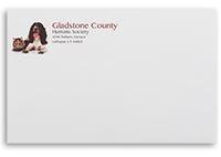 9x12 Standard Gum Flap Mailing Envelopes - Black, Red, or Dark Blue Ink