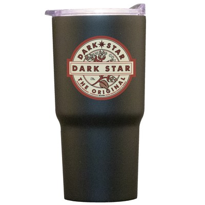 20 oz. Black Stainless Steel Tumbler