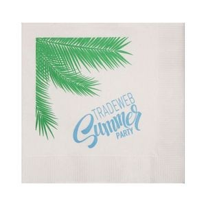 "The 500 Line White 3-Ply Beverage Napkins (5""x5"")"