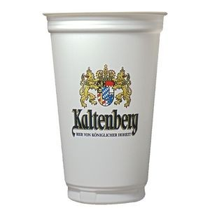 Digital 20 Oz. Economy White Plastic Cup