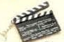 Custom Moveable Clapboard Keychain