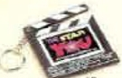 Custom Moveable Clapboard Photo Keychain