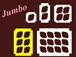 Custom Jumbo 5 Oz. Cupcake Insert w/ 6 Openings